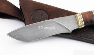 Нож Беркут: сталь алмазка; рукоять сапеле-венге