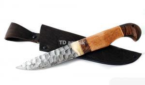 Нож Большой коготь: сталь алмазка, камень; рукоять сапеле-венге