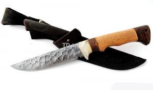 Нож Глухарь: сталь алмазка, камень; рукоять сапеле-венге