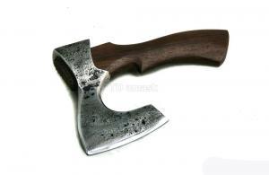 "Tопор ""Крепыш"": сталь углерод+ХВГ, рукоять венге"