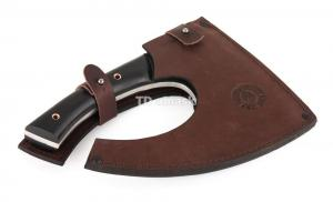 Tопор Викинг сталь кованая 9ХФ; рукоять черный граб