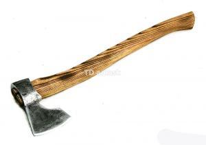 "Tопор ""Лесоруб"": сталь углерод+ХВГ, рукоять ясень"