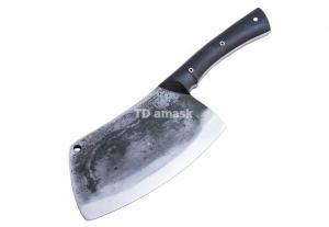 Тяпка большая: сталь кованая 9ХФ; рукоять черный граб