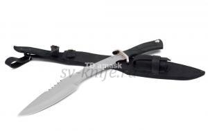 Кукри - мачете: сталь кованая 65Г рукоять резина