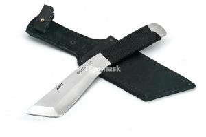 """нож """"НДК - 17"""" сталь кованая 95х18 рукоять цельнометалл. обмотка"""