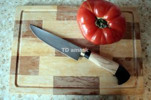 Нож Судак: сталь алмазка, рукоять венге