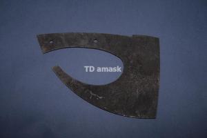 Топор Викинг - сталь кованая 9ХФ TDamask