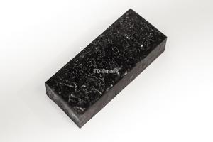 Брусок для рукояти: акриловый композит - черный перламутр с мелкой стружкой