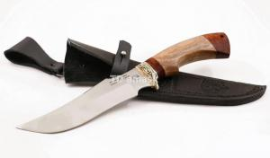Нож Ворон: сталь х12мф; рукоять падук-сапеле