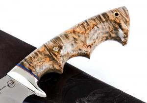 Hож Южанин: сталь Elmax; рукоять стабилизированная кар. береза
