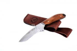 Складной нож - Казак 3: сталь 95Х18, рукоять сапеле