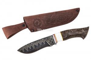 Нож Беркут: сталь Ламинированная; рукоять стабилизированная карельская береза, акрил