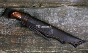 "Финский нож ""Puukko"" -1; сталь кованая D2, рукоять амазакуе FIN-SV010-PUUKD2A"