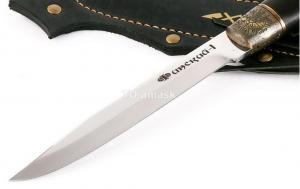 """Финский нож """"Puukko"""" -1; сталь кованая Х12МФ, рукоять граб, литье"""