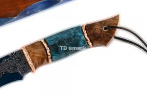 Hож Беркут: сталь Ламинированная, рукоять шпаль, стаб. карельская береза, Meinrtas