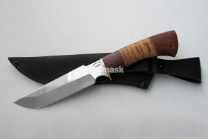"""Нож """"Гарсон"""", сталь Х12МФ, рукоять наборная береста и южный орех, meinartas"""